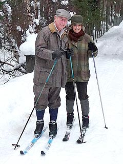 Prince Charles and Camilla&#39;s Snowy Christmas Card