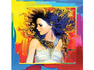 Taylor Swift Gets the Pop Art Treatment| Peter Max, Taylor Swift