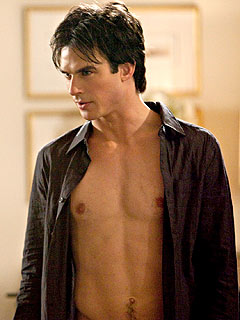 Ian Somerhalder Spends Birthday 'Naked with a Beautiful Girl'