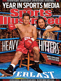 PHOTO: Mark Wahlberg Graces Sports Illustrated Cover | Christian Bale, Mark Wahlberg