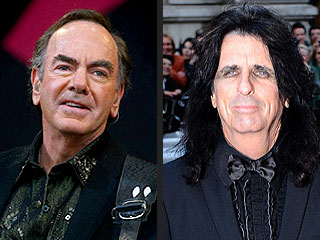 Neil Diamond, Alice Cooper Inducted into Rock and Roll Hall of Fame | Alice Cooper, Neil Diamond