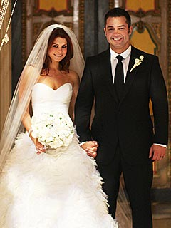 Joanna Garcia and Nick Swisher Wed in Palm Beach | JoAnna Garcia, Nick Swisher