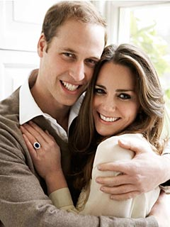 Prince William & Kate Middleton Share Two Official Engagement Photos