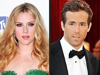 Scarlett Johansson & Ryan Reynolds Reunite for 'Friendly Meal'