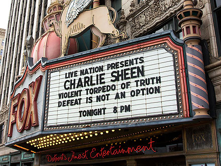 Charlie Sheen Gets Booed at Detroit Tour Kickoff| Scandals & Feuds, Charlie Sheen