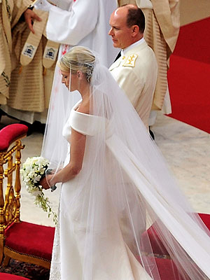 Prince Albert & Charlene Wittstock Wed in Religious Ceremony