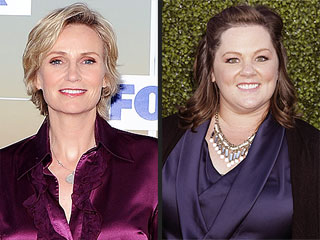 Jane Lynch Gets Early Kudos from Emmy Nominees, Costars | Jane Lynch, Melissa McCarthy