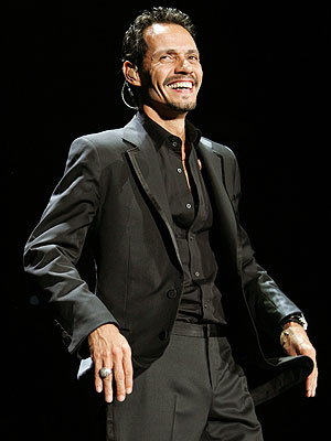 Marc Anthony Cries Onstage at His Birthday Concert