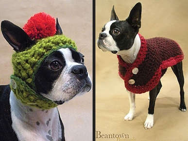 Etsy Fave! Anne Burton's Practical (And Pretty!) Winter Pet Gear