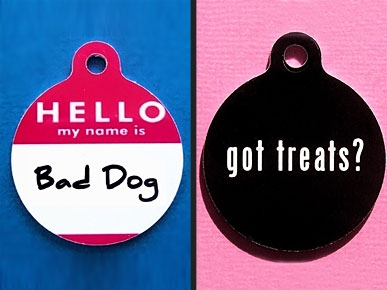 Etsy Fave! Quirky Tags Will Get a Second Look at the Dog Park