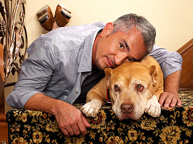 EXCLUSIVE VIDEO: Cesar Millan Lit 500 Candles in Dog Daddy's Honor