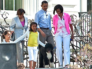 Bo Obama Goes to the Easter Egg Roll!