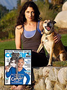Lisa Edelstein Asks the Dog Whisperer to Make a House Call