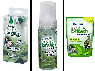 REVIEW: TropiClean Dental Care Gives Minty Fresh Breath to Pets