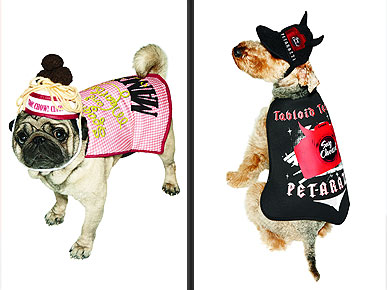 Simon Doonan Designs Halloween Costumes –for Pets!