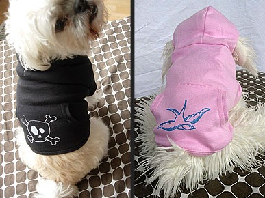 Etsy Fave! Fetching Dog Hoodies for Fall Cuties