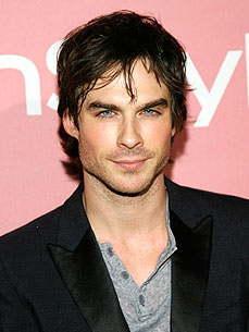 'Vampire Diaries' Star Ian Somerhalder Is a Cat Man!