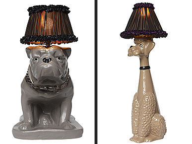 Light Up The Room With Abigail Ahern 39 S Dog Shaped Lamps