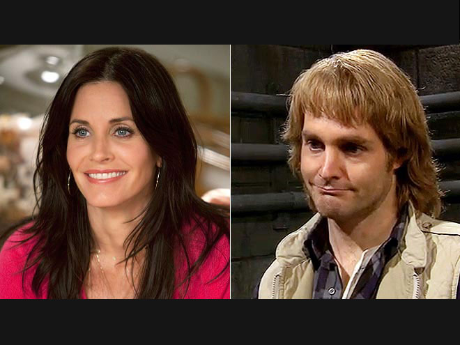 Who underwent a procedure to appear younger? | Courteney Cox, Will Forte