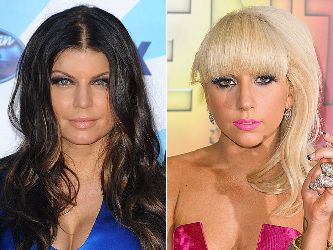 Who has worn a chrome girdle? | Fergie, Lady Gaga