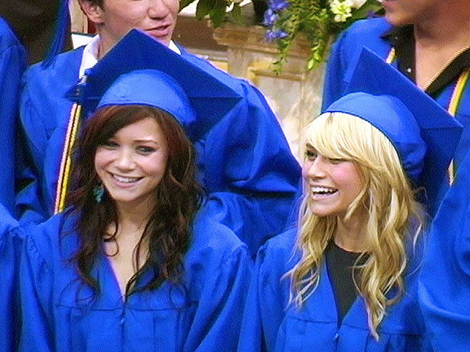 Mary-Kate & Ashley Olsen graduated from the same high school as which entrepreneurial star?