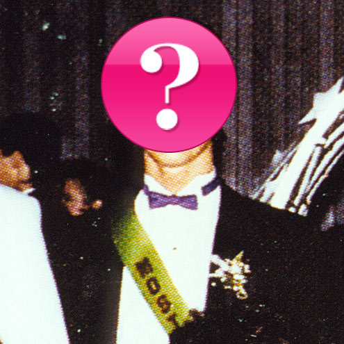 Which cover star was voted Most Handsome by his high school peers?