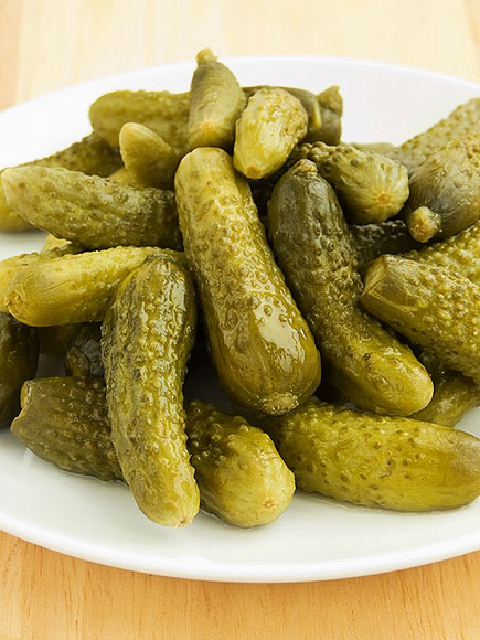 Who is obsessed with pickles?