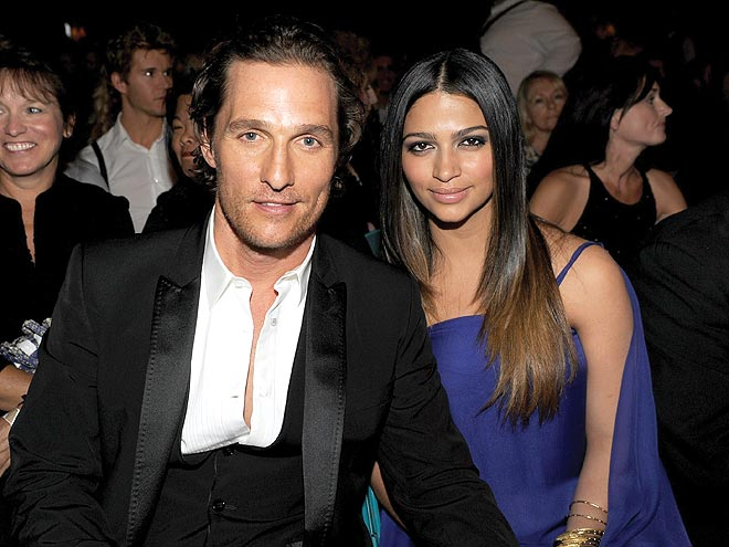 MATTHEW MCCONAUGHEY & CAMILA ALVES photo | Academy of Country Music Awards, Matthew McConaughey