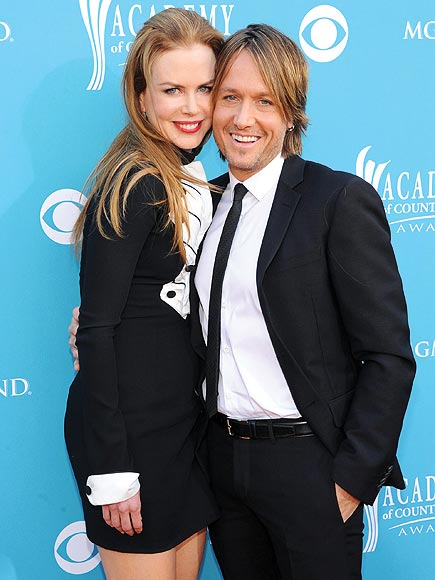 KEITH URBAN & NICOLE KIDMAN photo | Academy of Country Music Awards, Keith Urban, Nicole Kidman