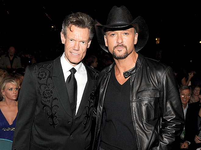 RANDY TRAVIS & TIM MCGRAW photo | Academy of Country Music Awards, Tim McGraw
