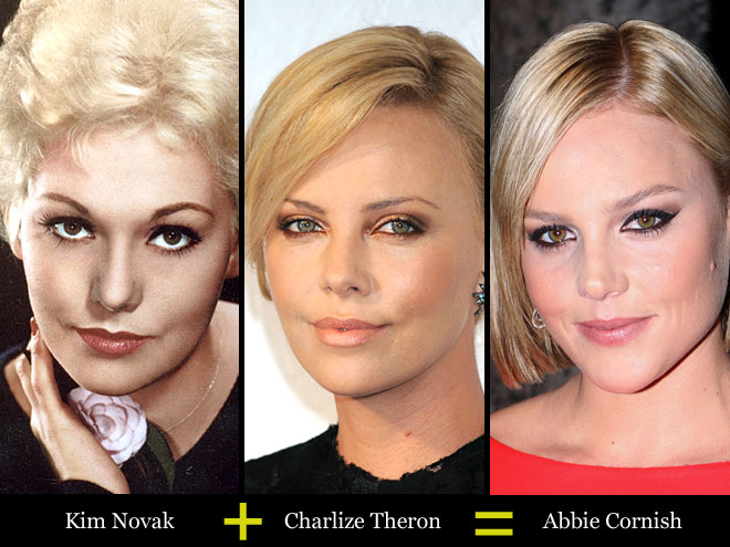 KIM + CHARLIZE = ABBIE photo | Abbie Cornish, Charlize Theron, Kim Novak