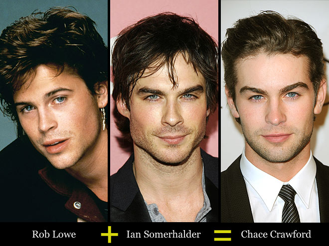 ROB + IAN = CHACE photo | Chace Crawford, Ian Somerhalder, Rob Lowe