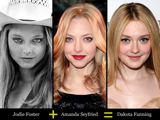 JODIE + AMANDA = DAKOTA photo | Amanda Seyfried, Dakota Fanning, Jodie Foster