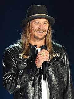 Kid Rock Keeps Things (Mostly) PG at the CMT Music Awards