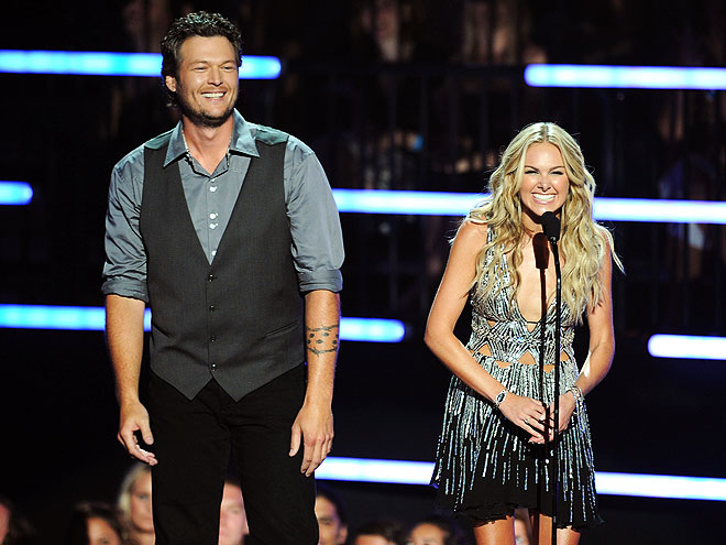 photo | Blake Shelton, Laura Bell Bundy
