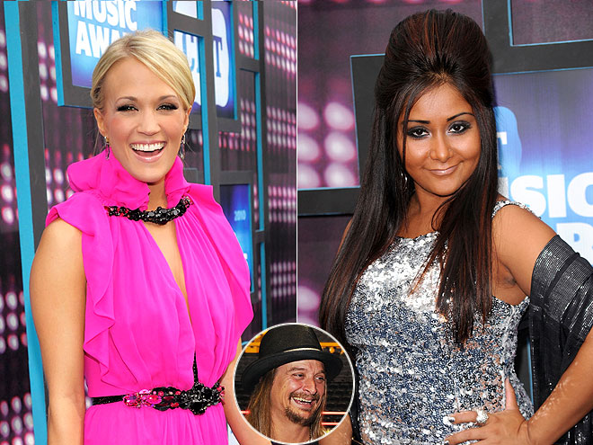 photo | Carrie Underwood, Kid Rock, Nicole Polizzi