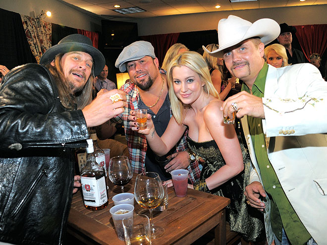photo | John Rich, Kellie Pickler, Kid Rock, Uncle Kracker