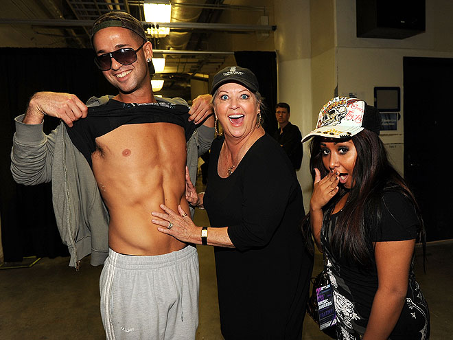 photo | Mike Sorrentino, Nicole Polizzi, Paula Deen