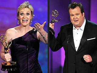 Emmys Have a Mad, Modern Night | Eric Stonestreet, Jane Lynch
