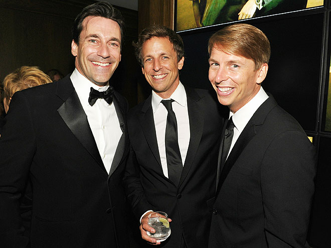 MEN'S CLUB photo | Jon Hamm, Seth Meyers