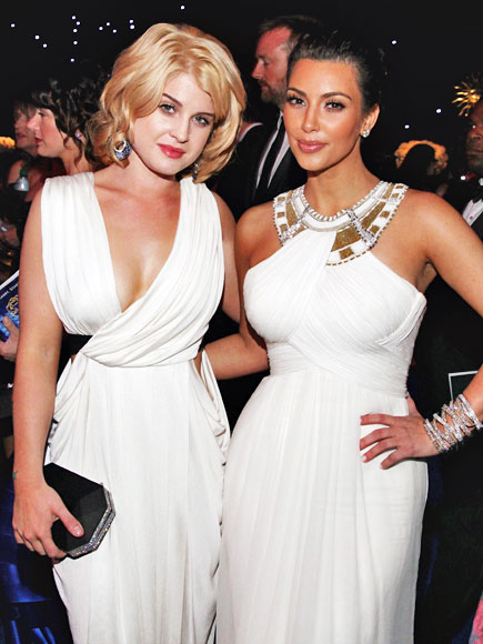 WHITE OUT photo | Kelly Osbourne, Kim Kardashian