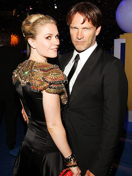 Anna Paquin &amp; Stephen Moyer