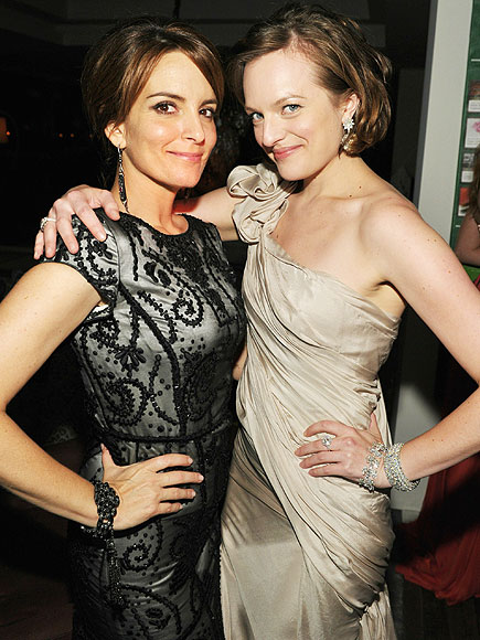 PARTY OF TWO photo | Elisabeth Moss, Tina Fey