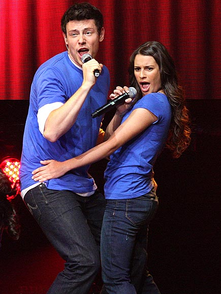 TOUR OF DUTY photo | Cory Monteith, Lea Michele