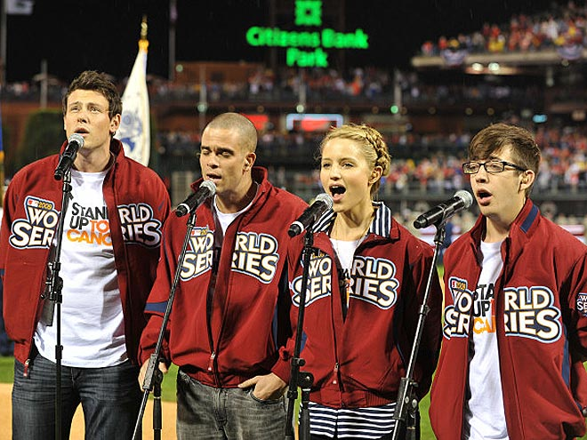 'WORLD'-CLASS SINGERS photo | Cory Monteith, Dianna Agron, Mark Salling