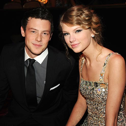 SEEING STARS photo | Cory Monteith, Taylor Swift