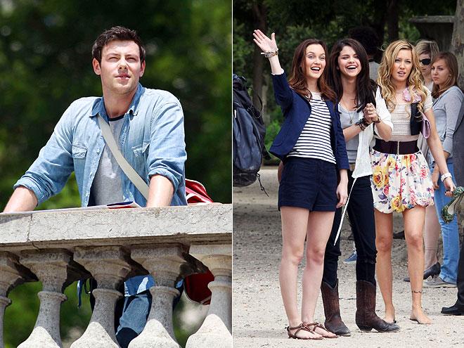 LOCATION SCOUT photo | Cory Monteith, Katie Cassidy, Leighton Meester, Selena Gomez