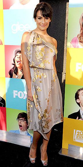 CUTTING A RUG photo | Lea Michele
