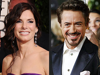 The Hangover, Avatar Lift Golden Globes | Robert Downey Jr., Sandra Bullock