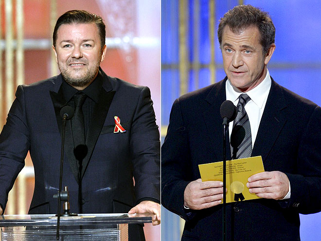  photo | Mel Gibson, Ricky Gervais